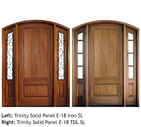 Quality Wood Entry Door Collections